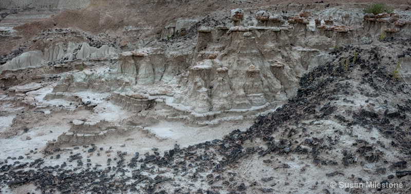 Badlands Hoodoos & Agate Pan 2 - ID: 14121530 © Susan Milestone