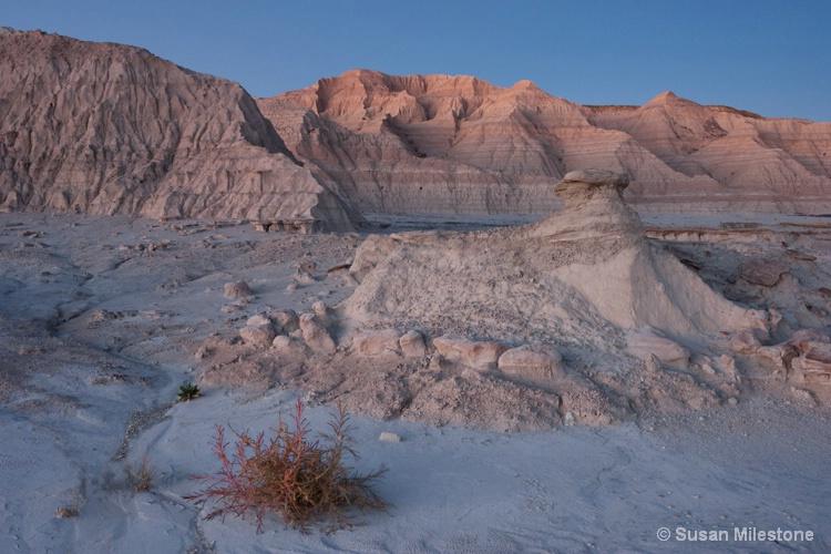 Dusk Afterglow 1837, Badlands NP - ID: 14124886 © Susan Milestone