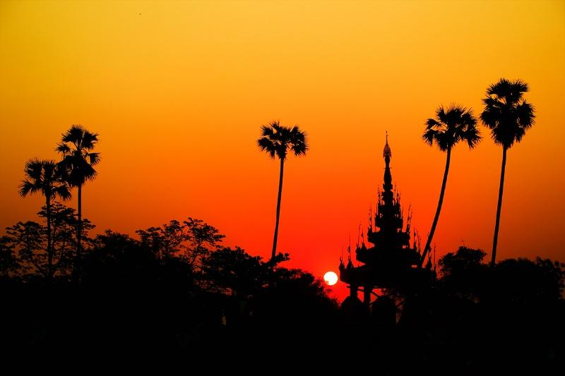 Sunrise of Ancient Palace !!!!!!!!!!!!!!!