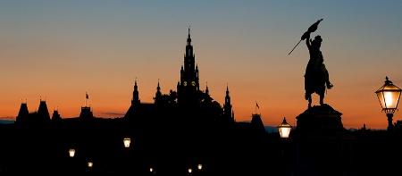 Vienna's silhouette
