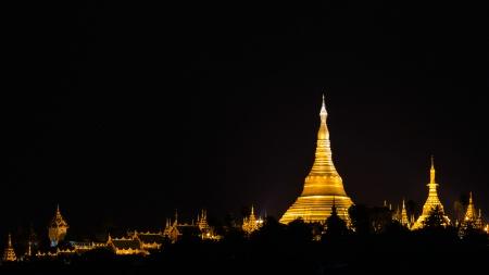Golden Mountain Of Myanmar