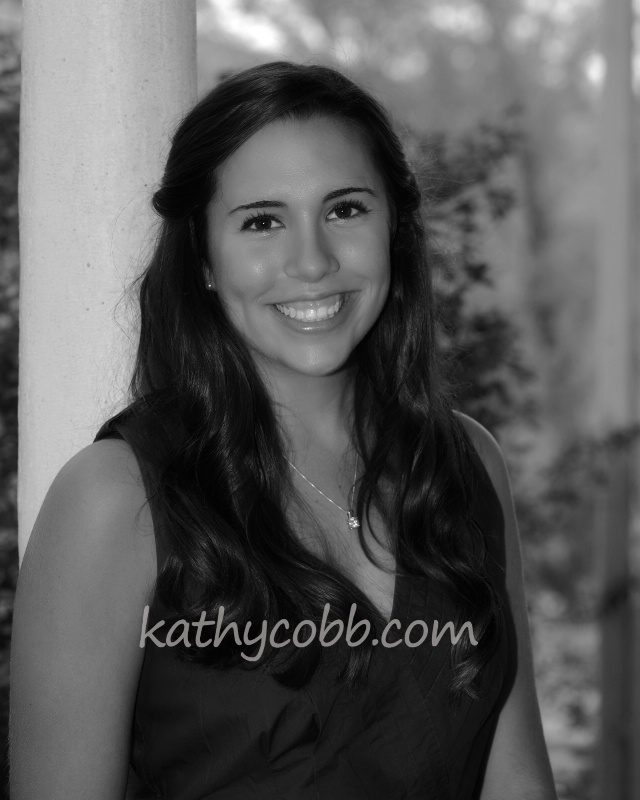 01 bw julia senior 2014 pp - ID: 14153626 © Kathy Cobb