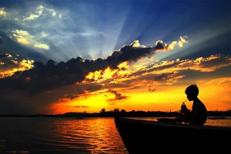 Drinking Sunset......! ! ! !