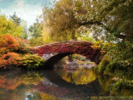 Autumn at Gapstow Bridge