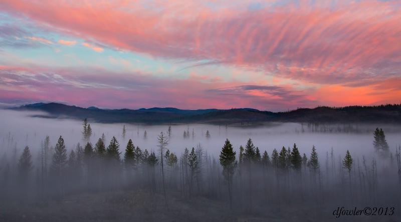 Sunrise and Fog II