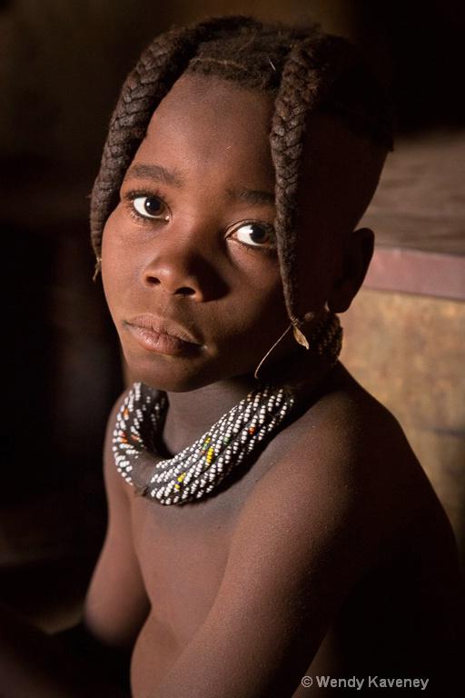 Young Himba Girl - ID: 14197297 © Wendy Kaveney