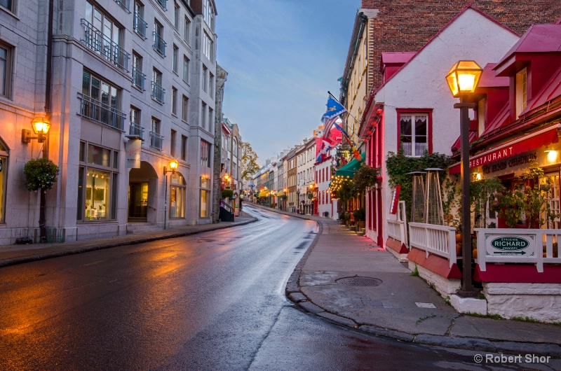 Upper town, Old quebec