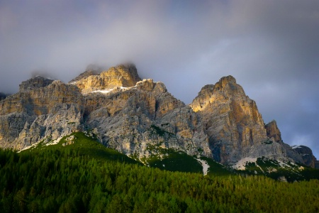 Late Afternoon in the Dolomites
