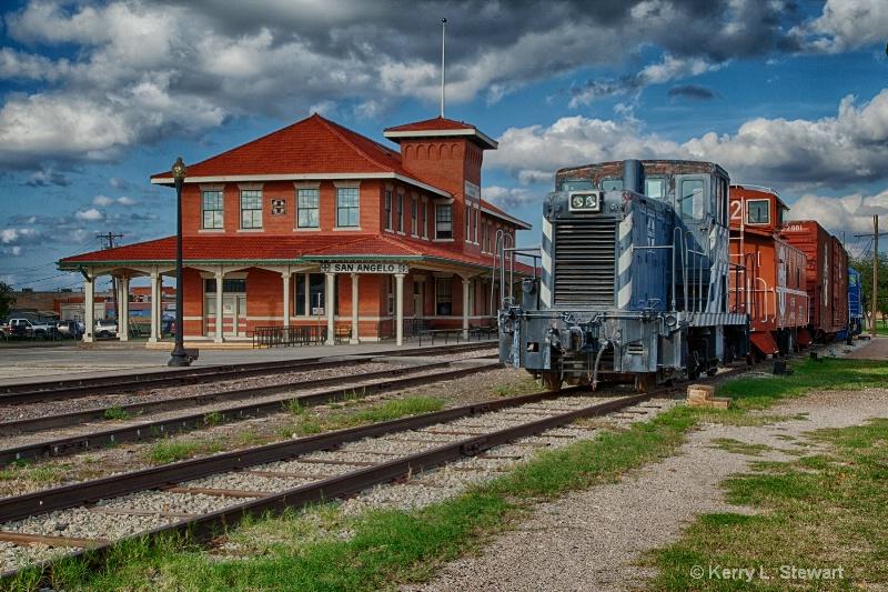 At the Train Depot - ID: 14207855 © Kerry L. Stewart