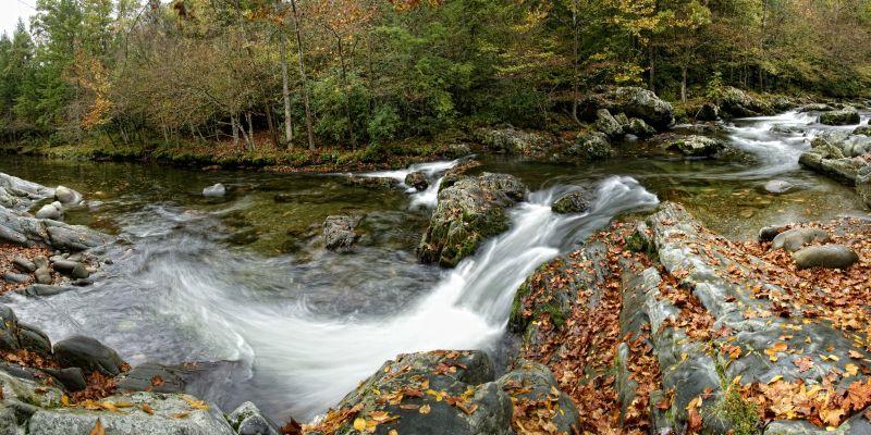 Mountain Stream Panorama