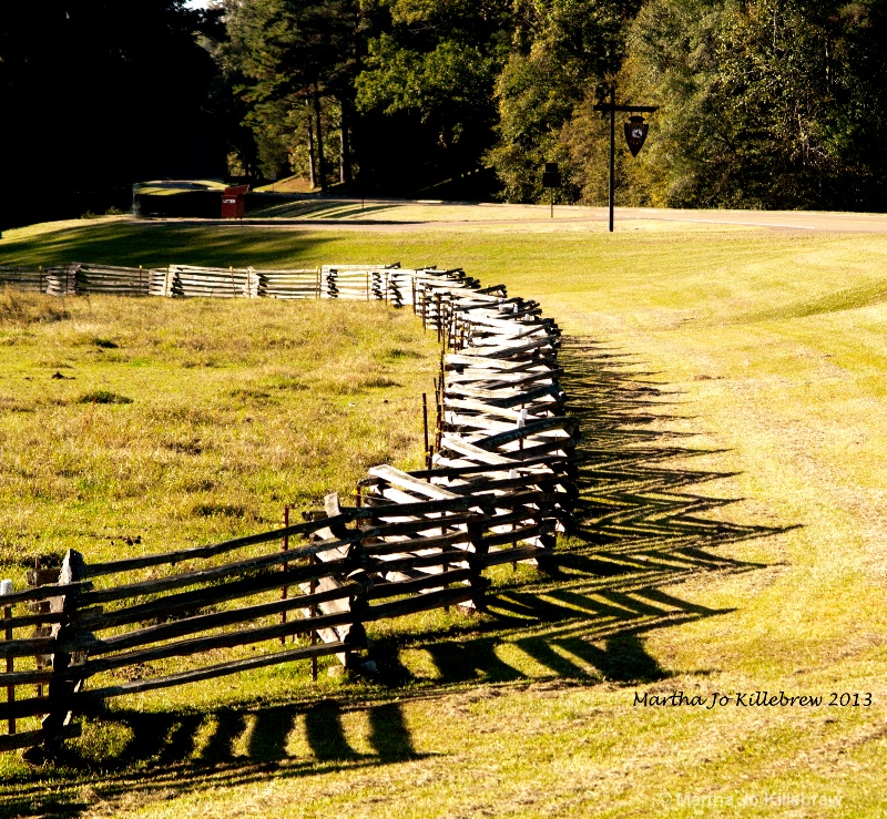 french camp fence