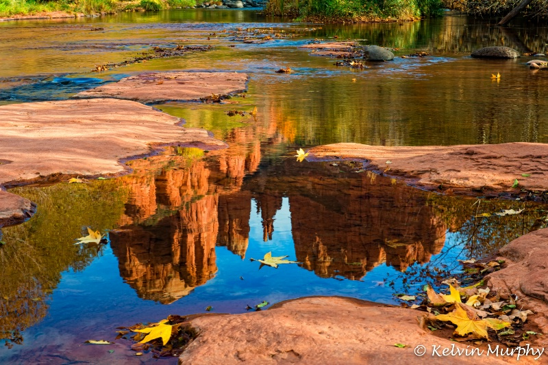 Reflecting on Cathedral Rock