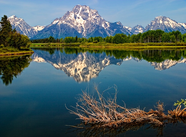 Morning In The Tetons,Grand Tetons NP, Wyoming - ID: 14257377 © Frank Silverman