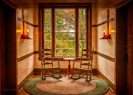 A Shaker Sitting Area