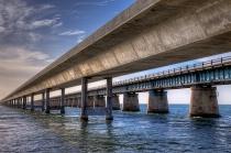 Old and New 7 Mile Bridge