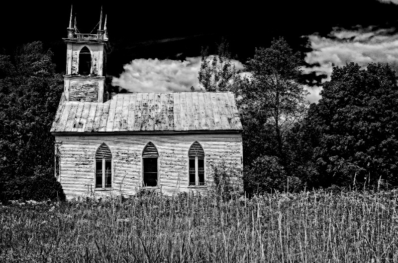 Church in B&W