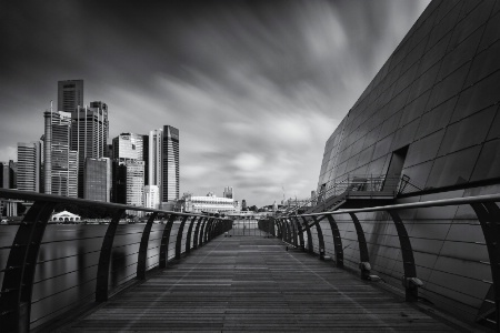 Cityscape in Black & White