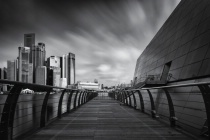 Cityscape in Black & White