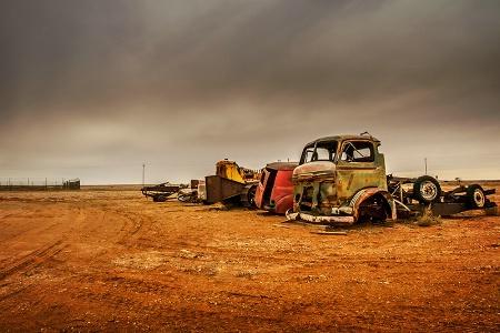 Outback Graveyard