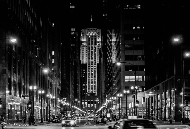 Chicago Board of Trade -- B&W - ID: 14305107 © John D. Roach