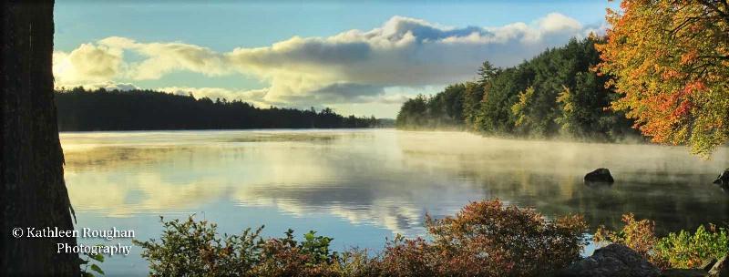 Morning Mist Panorama - ID: 14311840 © Kathleen Roughan