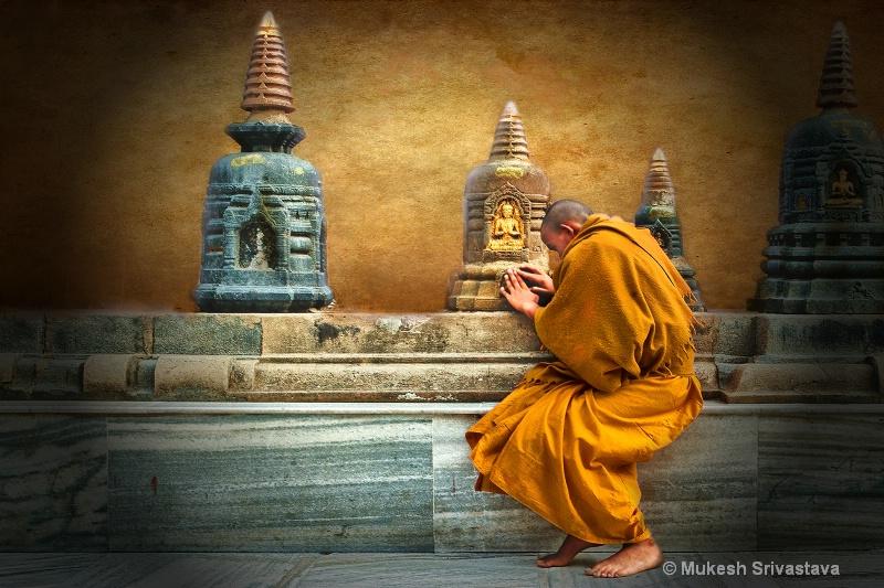 A Devotee of Budha