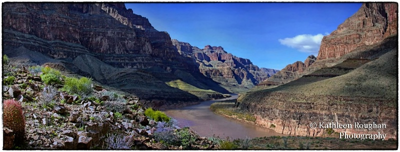 Grand Canyon Panorama - ID: 14319068 © Kathleen Roughan