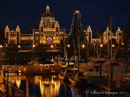 Christmas in Victoria