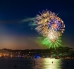 Fireworks over th...