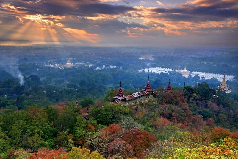 Mandalay Hill......!