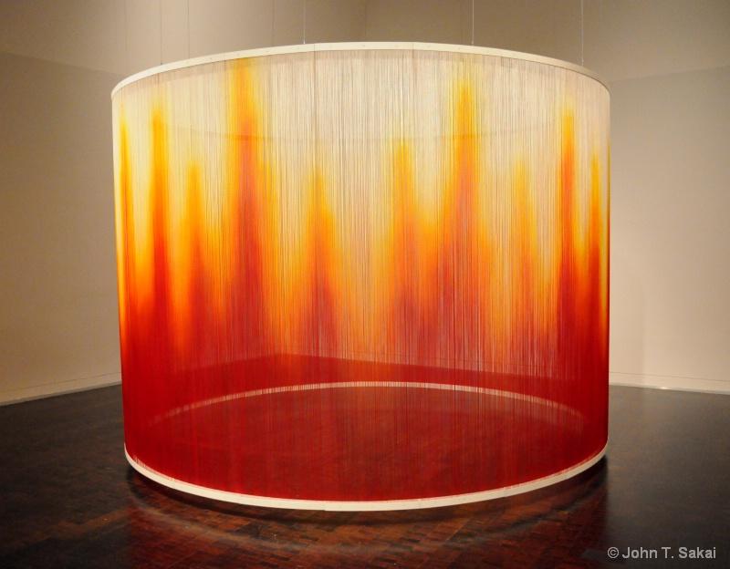 """Fire"" Teresita Fernandez - ID: 14332600 © John T. Sakai"