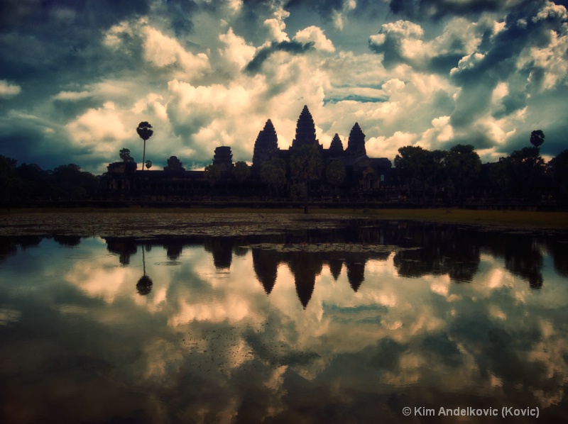 Sunset at Angkor Wat