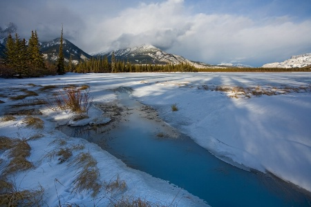 Jasper National Park winter