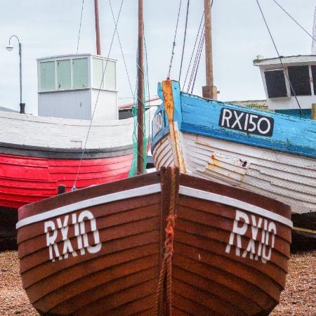 Fishing Trawlers, Hastitngs