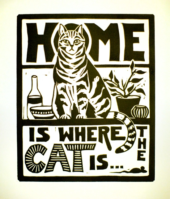Home is Where the Cat Is - ID: 14348699 © Mary-Ella Bowles