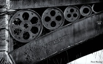 Iron Wheels Recycled