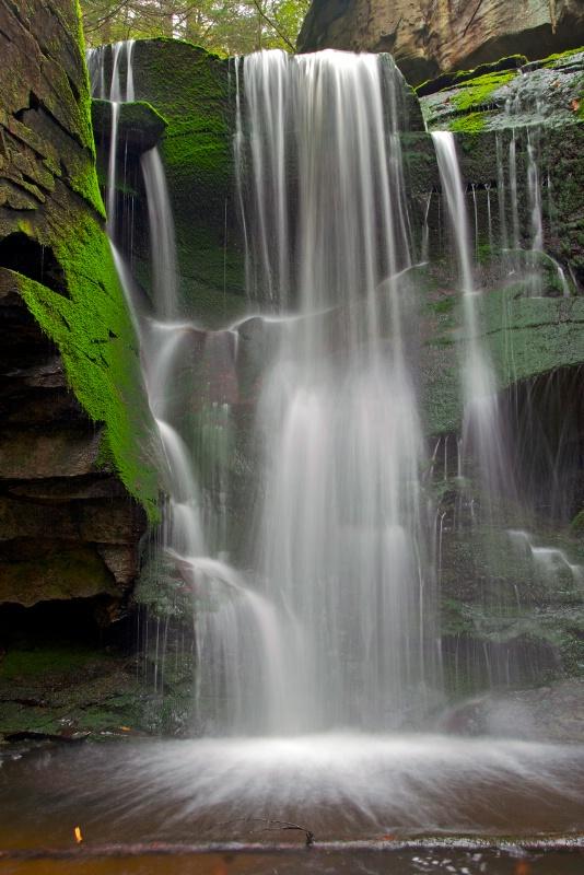 Plush Mossy Falls - ID: 14352374 © Zelia F. Frick