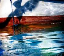 Nautical Reflections-Marseilles Gull