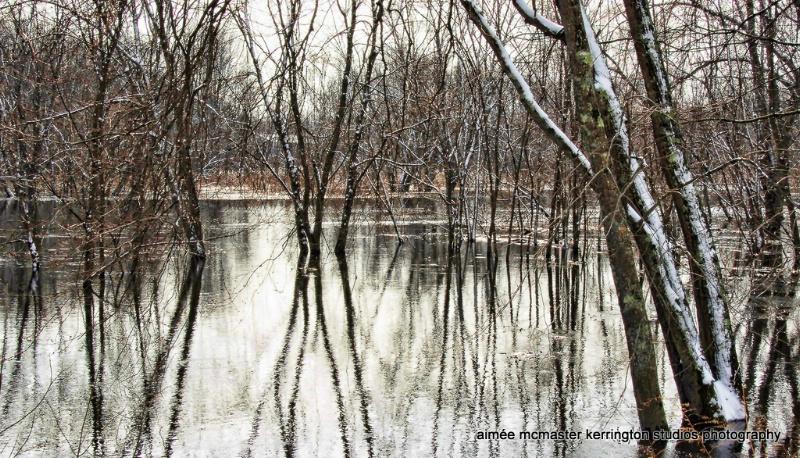 concord river winter