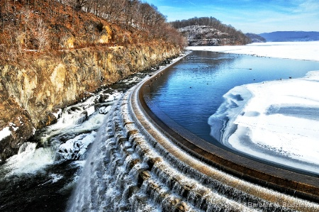 Cold Day at the Dam