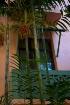 Bamboo balcony