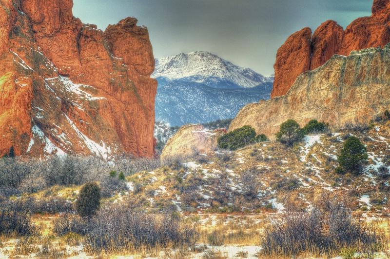 Colorado Springs @ -15 Degrees