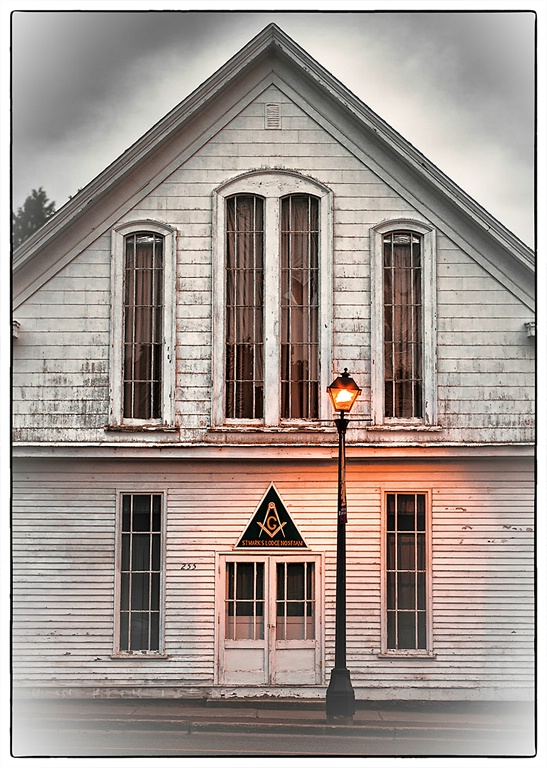 Mason's Lodge - St. Andrews, New Brunswick - ID: 14381223 © Martin L. Heavner