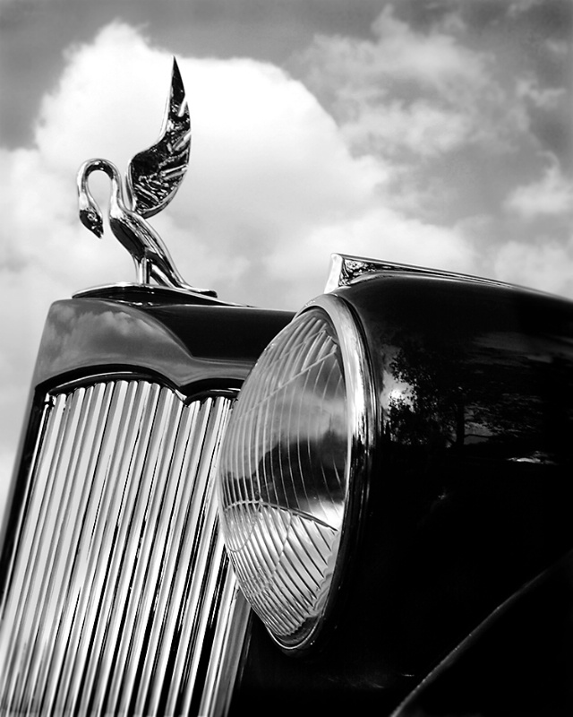Packard Lamp and Logo - ID: 14381248 © Martin L. Heavner