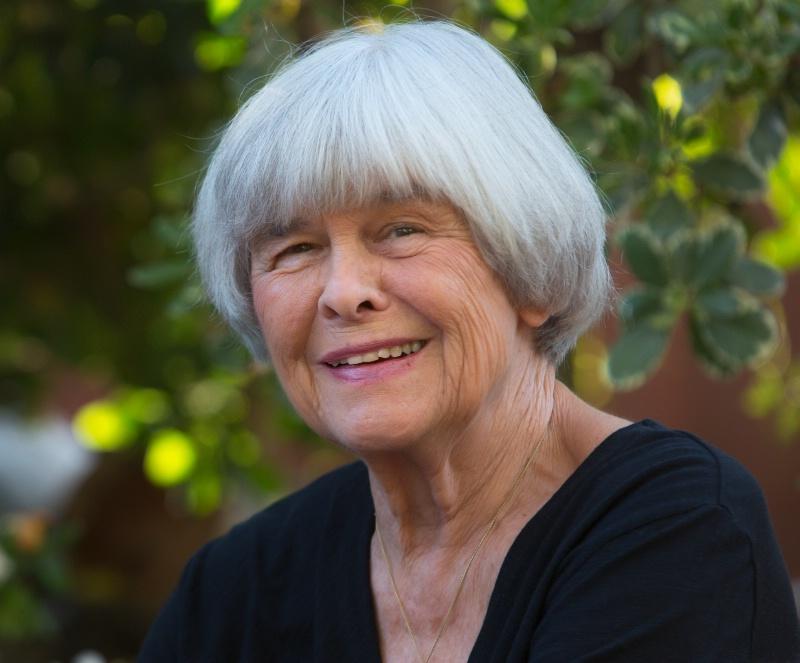 Linda in her Garden