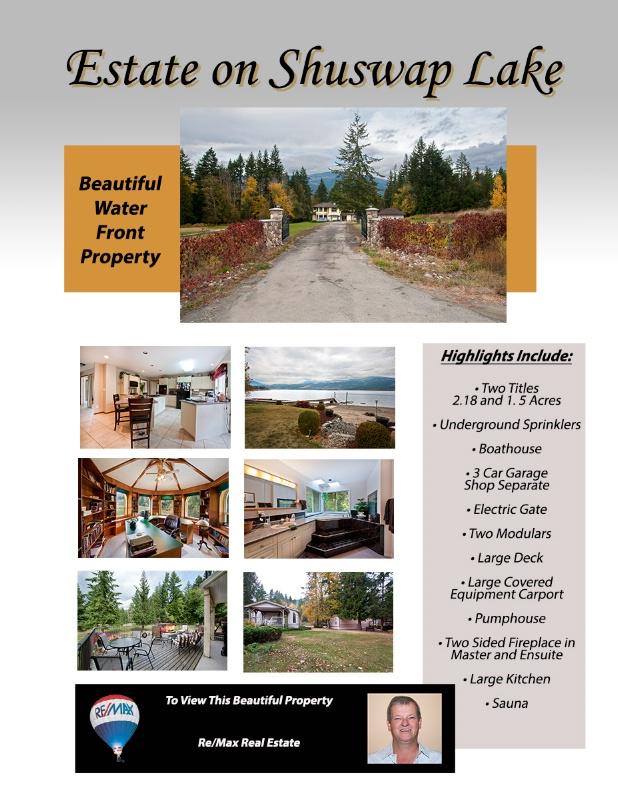 Shuswap Estate Flyer - ID: 14386190 © Kelly Pape