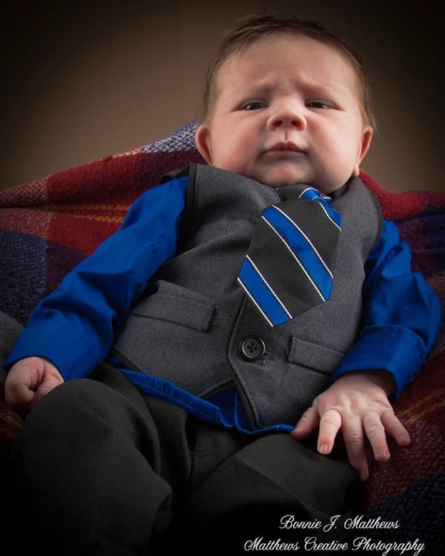 My New Suit - ID: 14386746 © Bonnie J. Matthews-Franke