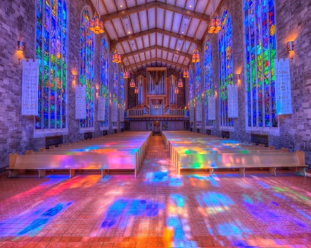Alice Millar Chapel Colors