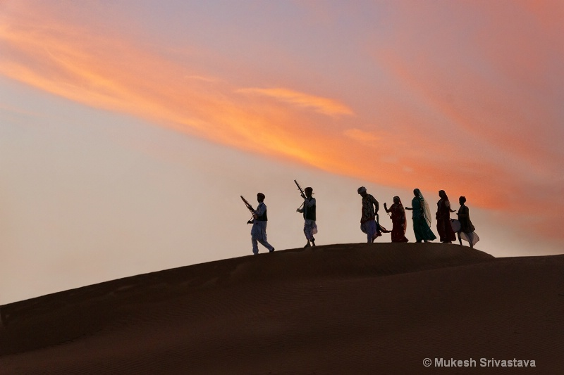 Symphony of Dance And Music At Khuri Sand Dunes
