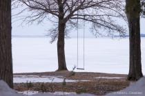 Empty Swing on Omean Bay